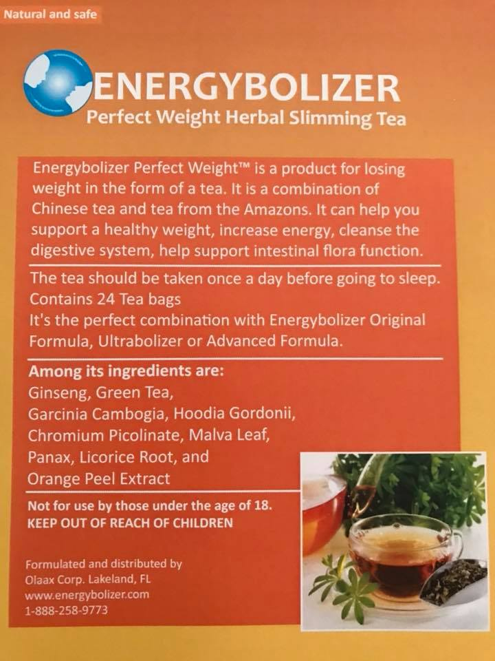 About Energybolizer Tea
